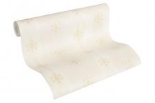 Luxus Vliestapete Streifen Barock Ornamente Floral creme beige 33084-2 Hermitage