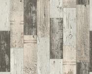 Vinyl Tapete Antik Holz rustikal beige braun bretter verwittert 96246-2 shabby