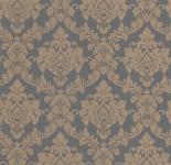 Vliestapete Neobarock Ornament grau bronze Glitzer metallic glitter 13701-20
