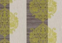 Vlies Tapete Barock Muster Ornament Streifen Optik braun gold 3502-10