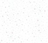 Vliestapete Kinder Bälle Punkte gepunktet Muster weiß rosa 35855-1