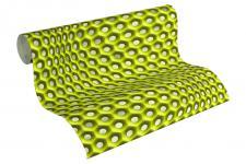 Vliestapete Retro 3D grün Grafisch Waben Muster Design by Mac Stopa 32707-1
