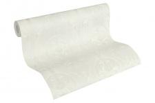 Luxus Vliestapete klassischer Barock weiß metallic 33083-3 Hermitage