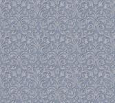 Vliestapete Ranken Barock blau grau metallic Großrolle 10, 05 x 1, 06 m 36388-6