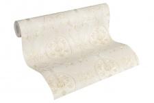 Luxus Vliestapete klassischer Barock creme beige metallic 33083-2 Hermitage