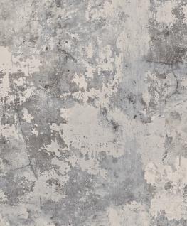 Vlies Tapete Beton Optik verwittert grau Industrial Stein Wand Mauer used look - Vorschau 4