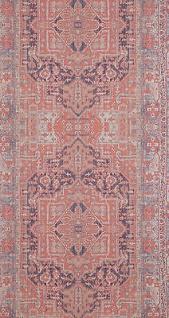 vlies tapete orientalisches wandteppich muster rose bordeaux rot ethno look vorschau 2 - Tapete Orientalisches Muster