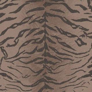 Vlies Tapete Tiger Fell Optik Afrika Stil Graham & Brown taupe braun
