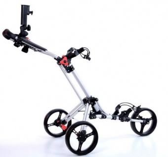 ClicGear Fastfold Quad Compact Golf Trolley - Vorschau 1