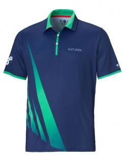Wild Green Flash Poloshirt für Herren