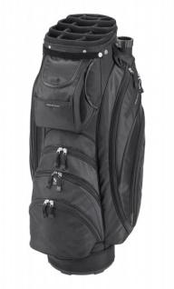 Silverline Golf Cartbag Portland, schwarz