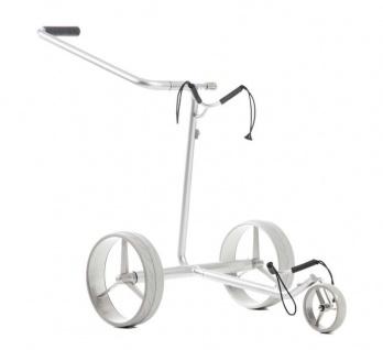 JuStar Silver Elektro-Golftrolley