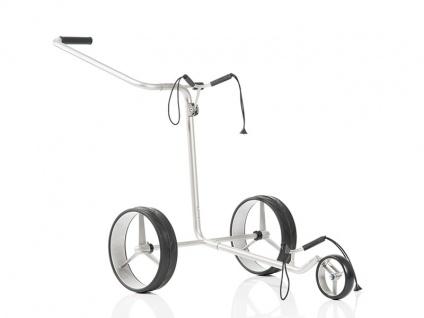 JuCad Golftrolley Edition - Edelstahl in Perfektion