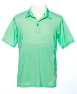Wild Green Solid Poloshirt für Herren
