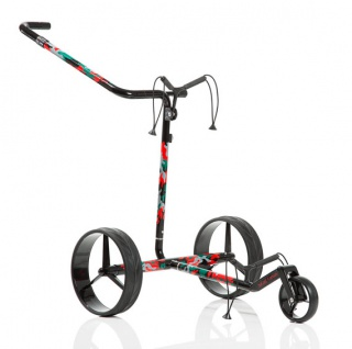 JuCad Camouflage Carbon Travel Elektro Trolley