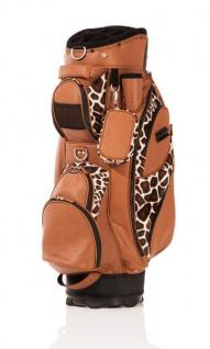 JuCad Golfbag Style Nylon/Fell-/Lederoptik