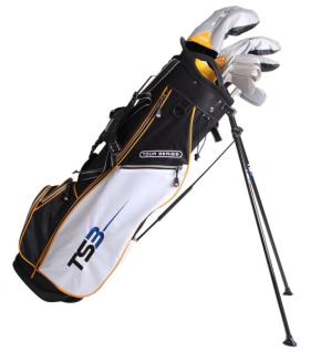 """U.S. Kids Golf Tour Series 10er-Set TS3 63"""" mit Standbag (für Mädchen und Jungen)"""