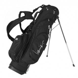 Lanig Golf Standbag MONTANA Schwarz - Vorschau 1