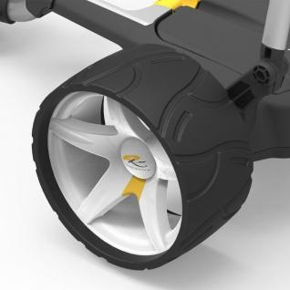 PowaKaddy Stilvolle Wide Sport Wheels