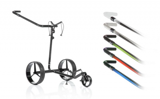 JuCad Carbon Travel 2.0 Elektro Trolley
