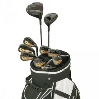 Komperdell Golf EQT Custom Komplettset Black/Gold Edition