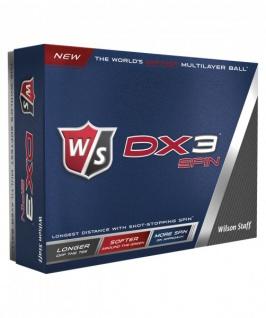 Wilson Staff DX3 Spin Golfbälle (12 Bälle)