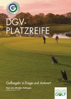 DGV-Platzreife - Golfregeln in Frage und Antwort 2019