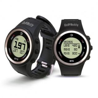 GolfBuddy GPS-Golfuhr WT6