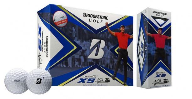 Bridgestone 2020 Tour B XS Tiger Woods Limited Edition Golfbälle