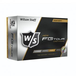Wilson Staff FG Tour Urethane Golfbälle (12 Bälle) - Vorschau 1