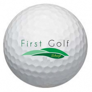 First Golf - Drive Your Life Logobälle - Wilson Staff DX2 Soft Golfbälle (12 Bälle)