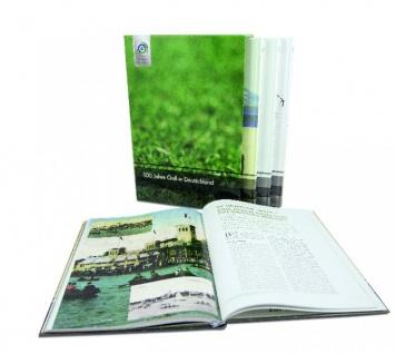 100 Jahre Golf in Deutschland - Chronik aus vier hochwertigen Bänden im Schuber
