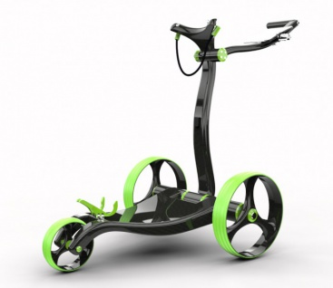 MIRUS GOLF Design-Elektrotrolley in Vollcarbon
