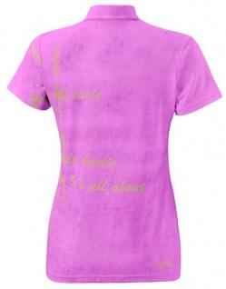 Wild Green Garment Lilac Poloshirt für Damen - Vorschau 2