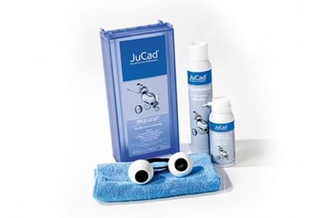 JuCad Golf Trolley Pflegeset für alle JuCad Trolleys (Edelstahl, Carbon und Titan)