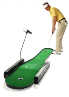 Putting Challenge - Elektronischer Indoor Golf Putting Trainer
