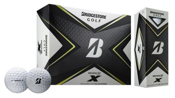 Bridgestone 2020 Tour B X Golfbälle