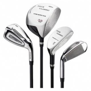 Silverline Golf Komplettschlägersatz TOUR CLASSIC TC-24, Men Right-hand oder Ladies Right-hand