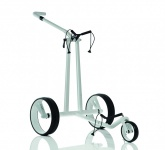 JuCad Phantom Carbon White Golfcaddy - Einzigartige Caddy-Kunst