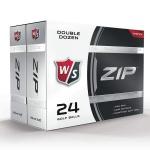WILSON STAFF ZIP GOLFBALL, WHITE, 24ER-PACK
