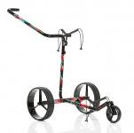 JuCad Camouflage Carbon Travel Elektro Trolley