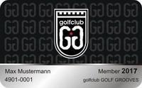 GOLF GROOVES Membercard