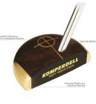 Komperdell Soft Touch Putter Woodgrain Steel RH