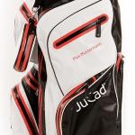 Personalisierung von JuCad Golfbags, Schirmen und Transporttaschen