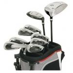 Komperdell K1 Damen Golf-Einsteigerset RH incl. 2-Rad Trolley
