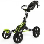Clicgear Model 8.0 Trolley Golf Pushcart 4-Rad Qod