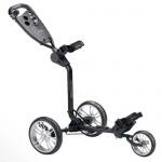 """Silverline Golftrolley - STT 200 - 3-Wheel-Trolley """" Easy-Fold"""", drei kugelgelagerte Räder mit Feststellbremse"""