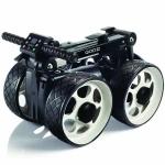 QOD Golf-Trolley (E-Trolley) der weltweit kompakteste faltbare E-Trolley (inklusive Tasche und Schirmhalter)