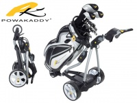 Powakaddy Golf Elektro Trolley FW7 mit Lithium Batterie SL