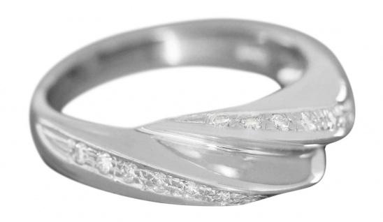 Weißgoldring 750 Brillanten 0, 30 ct. Brillantring Damenring Ring 18 Karat - Vorschau 3